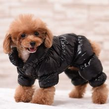 Winter New Arrival Dog Clothes Pet Cat Dogs Padded Coat Winter Clothing Puppy Warm Down Jacket