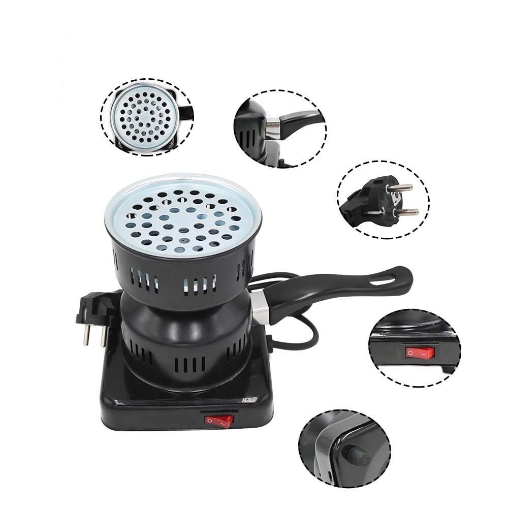SY 1 pc poêle à charbon électrique charbon électrique brûleur à charbon électrique briquet à charbon Shisha plaque chauffante accessoires narguilé