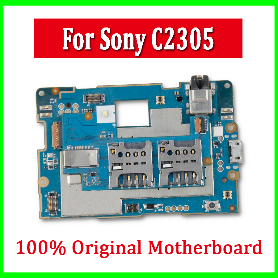 Full Work Original Unlocked Mainboard For Sony Xperia C S39h C2305 U Circuit Diagram 100