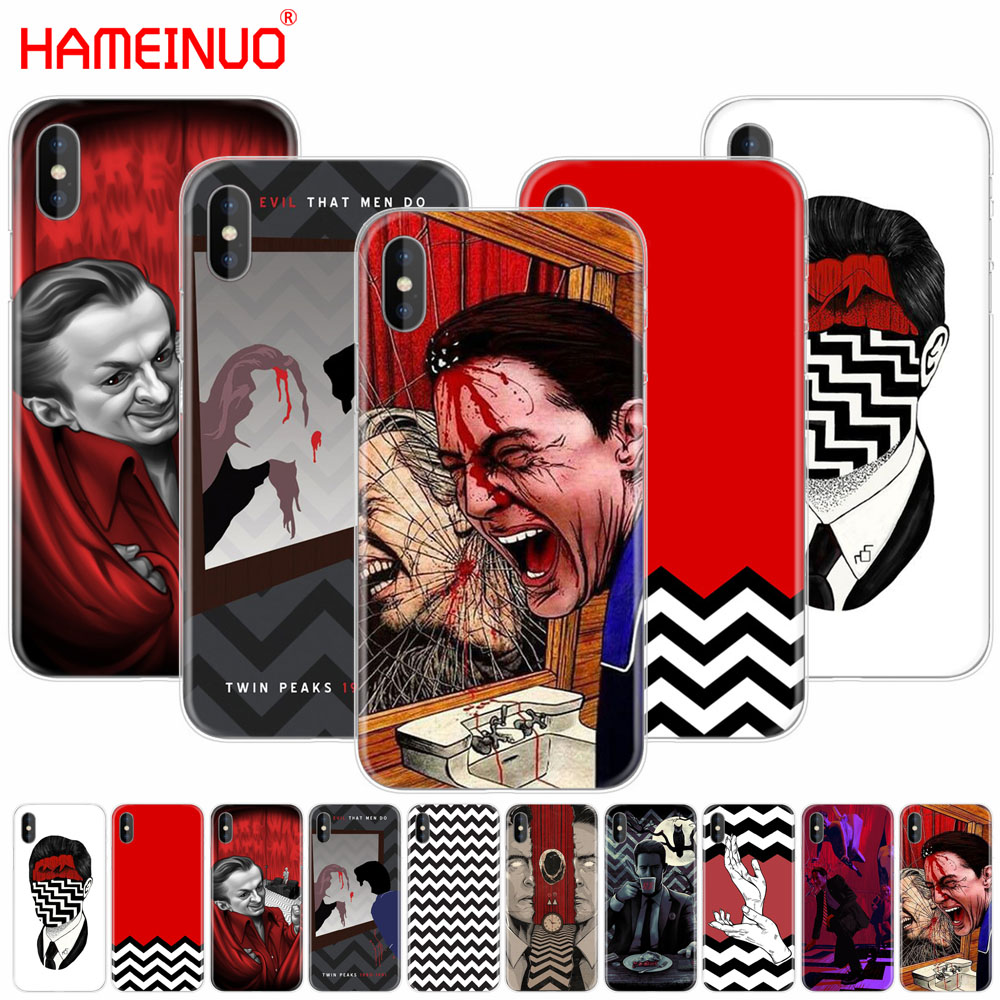 HAMEINUO Twin Peaks Fire Walk With Me cell phone Cover case for iphone X 8 7 6 4 4s 5 5s SE 5c 6s plus