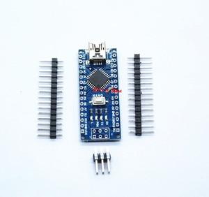 Image 4 - Arduino 나노 3.0 컨트롤러 CH340 USB 드라이버 16Mhz 나노 v3.0 atmega328p에 호환되는 부트 로더와 10PCS 나노 미니 USB