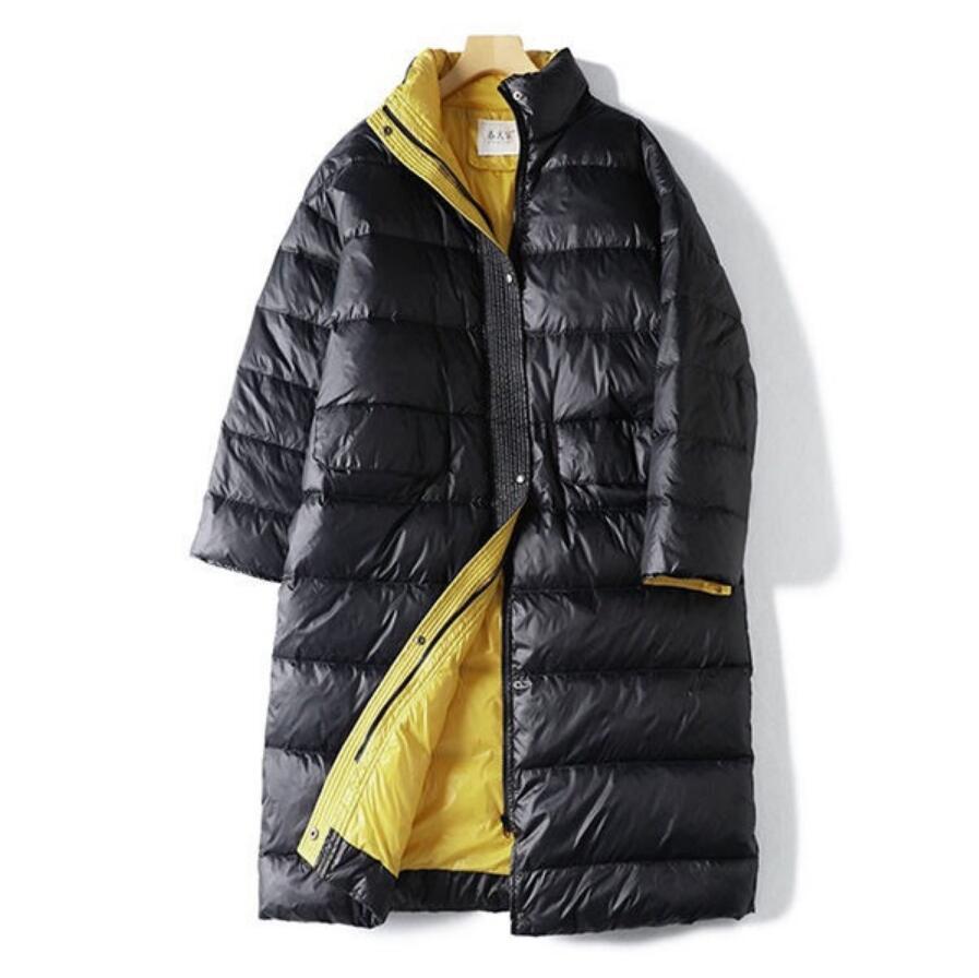 2019 Winter Women Duck   Down     Coat   Warm Parka Female Long   Down   Jacket Quilted   Coat   Womens   Down   Jacket r1431