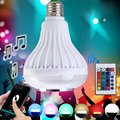 2017 Smart E27 LED Bulb Music Speaker Portable Wireless RC Colorful Bluetooth 3.0 Remote-Controlled LED Light Bulb Music Lights