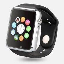 Smart uhr Bluetooth für Android Phone Smartwatch Uhr Aplus GV18 Uhr Sync Notifier Unterstützung Sim Karte Samsung