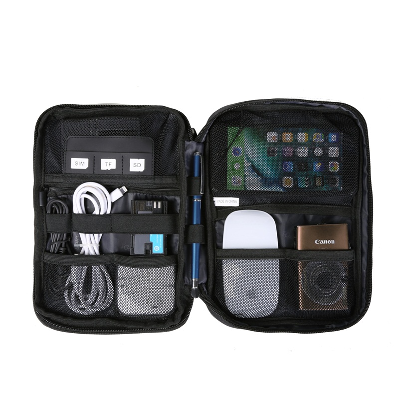 b666909836f80 TOURIT Electronic Accessories Bag Nylon Mens Travel Accessories For ...