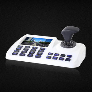 Image 2 - Inesun ONVIF Network Keyboard Controller 5 inch 3D Joystick HD LCD Display IP PTZ Keyboard Controller For High Speed Dome Camera