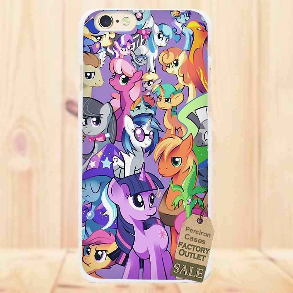 Мягкая обложка сотовый телефон случаях My Little Pony для Apple iPhone 4 4S 5 5C SE 6 6 S 7 плюс 8 X для LG G3 G4 G5 G6 K4 K7 K8 K10 V10 V20