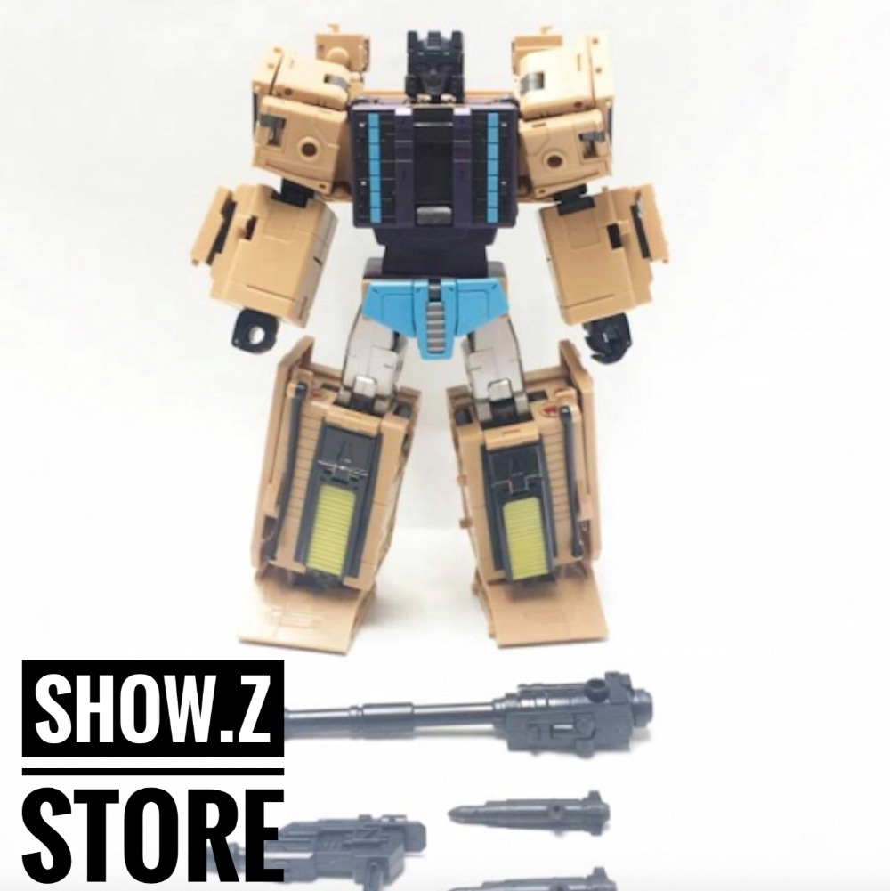 [Show.Z Store] Zeta Toys ZA-05 Racket Swindle Transformation Action Figure купить