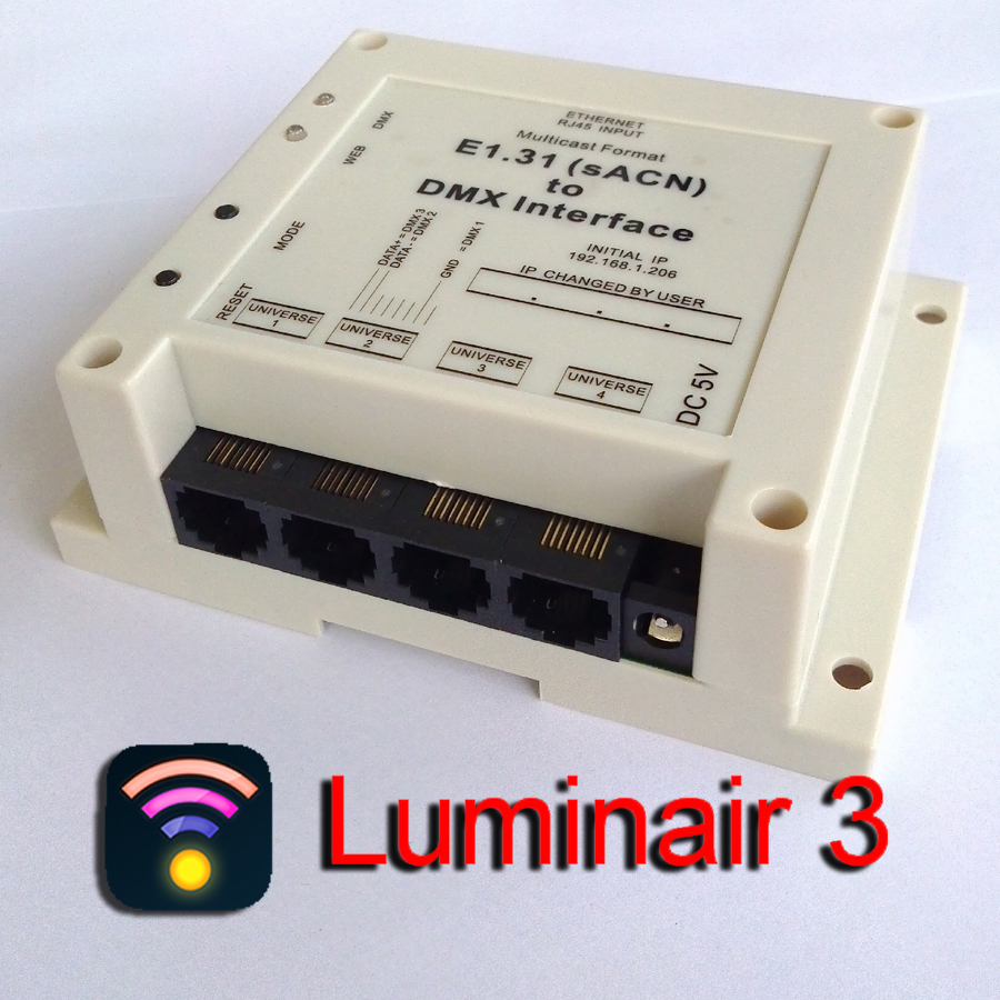 Excellent for Luminair, sACN (e1.31) to DMX controller / Interface, output 4 universes up to 2048 channels. DMX over Ethernet dmx512 digital display 24ch dmx address controller dc5v 24v each ch max 3a 8 groups rgb controller