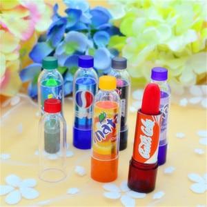 Fashion Change Color Cola Lipstick sweet cute Moisturizer Faint scent Lip Balm Lipstick Brand Makeup Lip Smacker