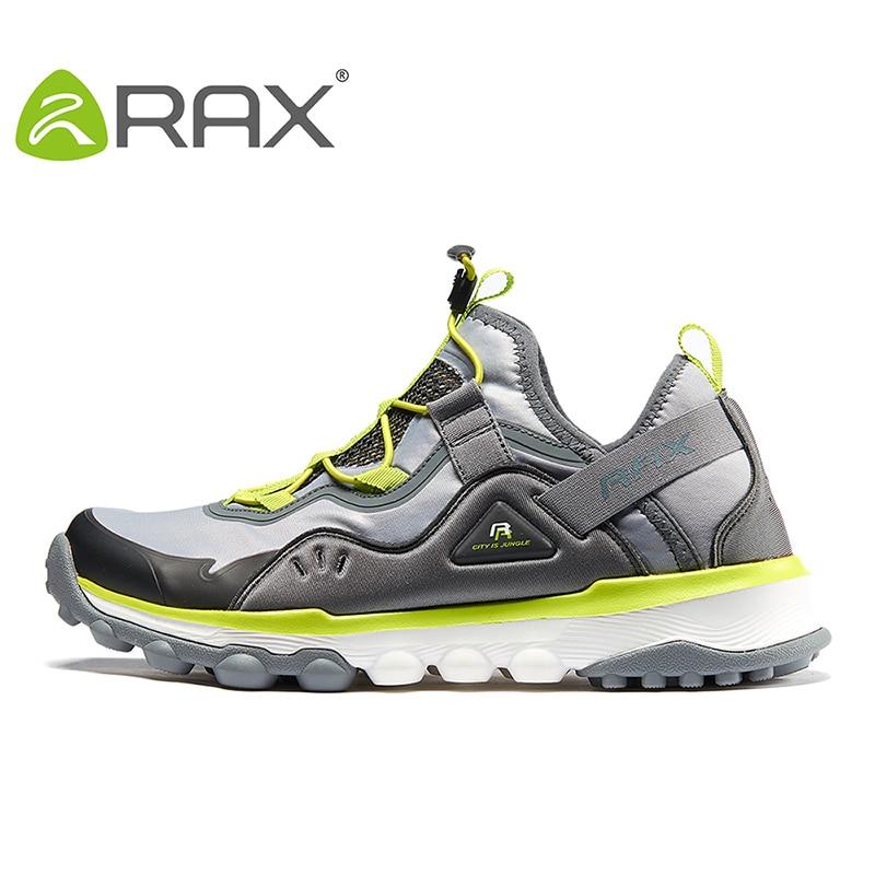 を Rax の春夏のハイキングシューズメンズ女性アウトドアスポーツスニーカー男通気性トレッキングシューズ  グループ上の スポーツ & エンターテイメント からの ハイキング靴 の中 2