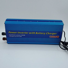 цена на 2 in 1 RMS 1000Watts DC 12V To AC 220V Car Inverter Transformer Converter 20A Power Inverters With 12V Battery Charger Function