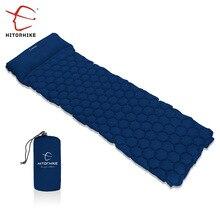 Hitorhike надувной коврик Moisturepro туристический коврик с подушкой Воздушный Матрас Подушка спальный мешок air надувной диван