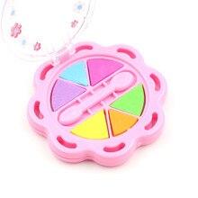 1 шт. пудра пирог цвет сливы макияж коробка подарки для девочек Косметика игрушки куклы аксессуары макияж коробка ролевые игры домашняя игрушка