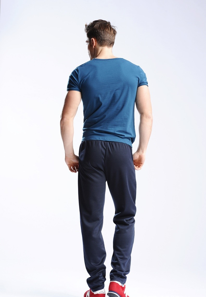 Uwback 17 Plus Size 4XL New Sweat Pants Men Joggers Pants Elastic Waist Loose Sweat Pants For Men Casual Trousers homme CAA329 7
