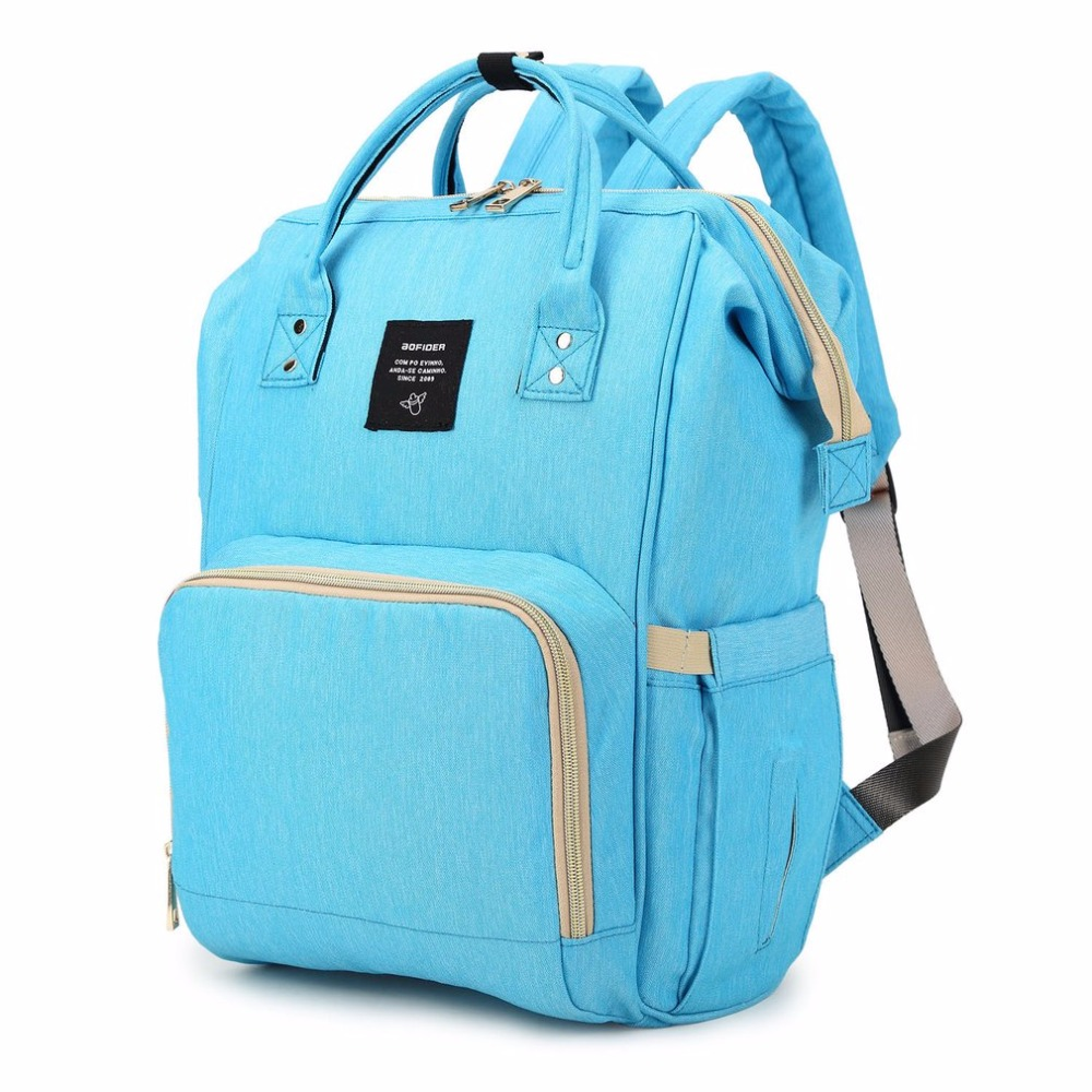 Women Waterproof Oxford Bags Cloth Mummy Maternity Nappy Diaper Bag Large Capacity Baby Bag Travel Backpack with Handle casual women backpack solid oxford cloth multi functional large capacity maternal bag baby diaper bags travel mother backpack y3