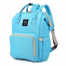 Для женщин Водонепроницаемый Оксфорд Сумки ткань Мумия Материнство мешок пеленки большой Ёмкость маленьких сумка рюкзак с ручкой
