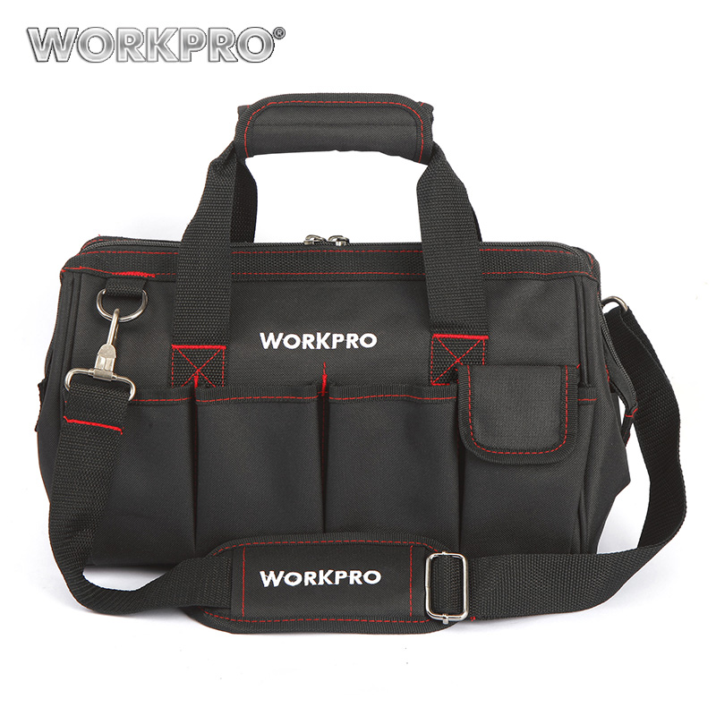 WORKPRO 14 Inches Tool Bag  for Kits Multifunctional Bags Travel