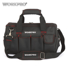 WORKPRO 14 Inches Tool Bag  for Tool Kits Multifunctional Bags Travel Bags