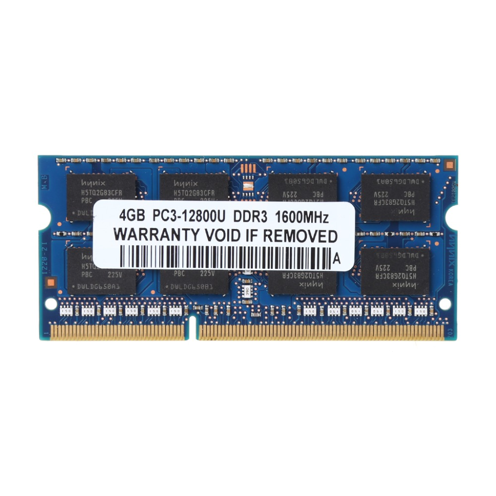 1Pc 4GB 2Rx8 PC3-12800 PC12800 Notebook RAM SO-DIMM Memory Laptop DDR3 1600Mhz цена