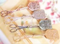 Creative Vintage Bread Cake Clip Tong Food Metal For Wedding Birthday Tea Party Favor Decoration Wh