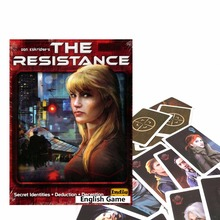 The Resistance game for adult another COUP series board game playing cards English version