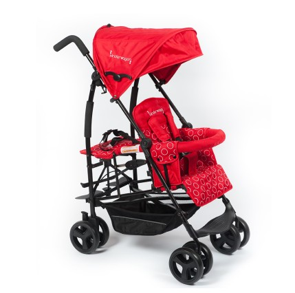 USA brand Kinderwagon Twin Baby Stroller, Double Second Artifact, Big Stroller Bb Can Lie Down baby twin stroller