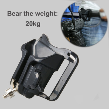 Camera Quick Strap Clip Holster Mount Waist Belt Buckle Button for Nikon D750 D800 D600 D5500 D7100 D7000 D7200 D7700 Canon 750D image