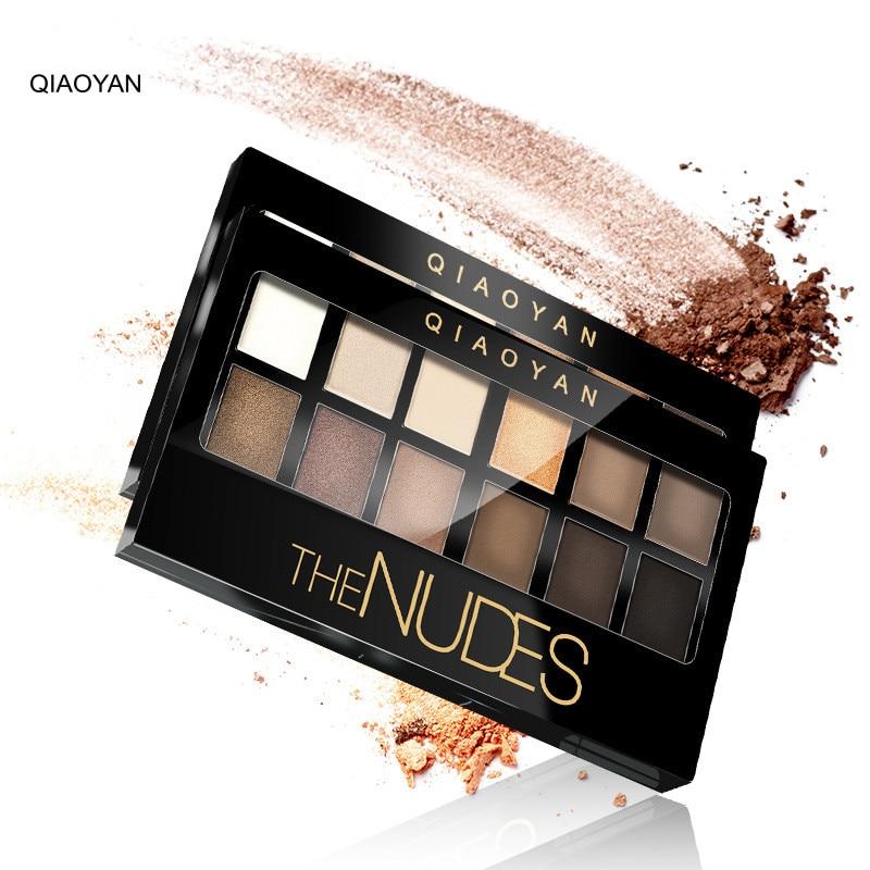 Brand Makeup Eye Shadow Palete Earth Color Glitter Luminous Waterproof Long Lasting Eyeshadow New Make Up
