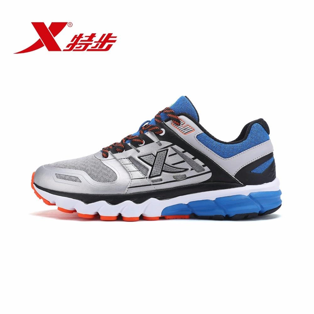 983119119157 XTEP 2018 Original amortiguación deporte entrenamiento caminar correr profesionales zapatos de los hombres zapatillas de deporte