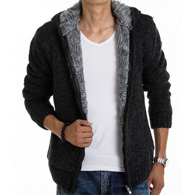 Valley fair men hooded for near sweaters me cardigan