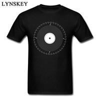 The Cutting Record Graphic T Shirt On Sale Custom Pure Cotton Tops T Shirt For Men