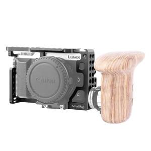 Image 3 - SmallRig gx85 Camera Cage for Panasonic Lumix DMC GX85/GX80/GX7 Mark II Cage With Cold Shoe Nato Rail  1828