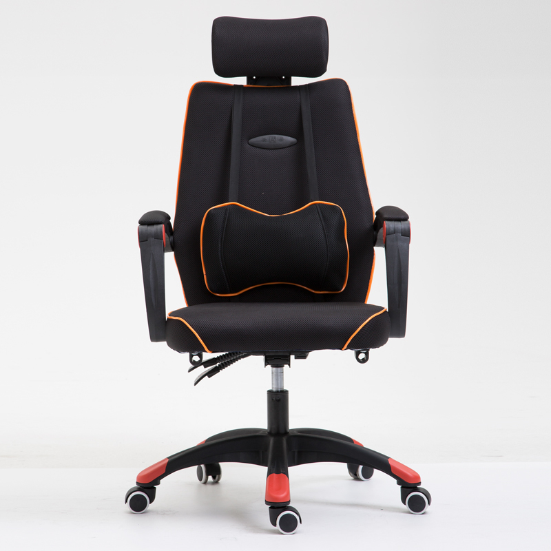 WB#3417 Computer office student simple leisure lift and swivel chair package post anchor 240337 ergonomic chair quality pu wheel household office chair computer chair 3d thick cushion high breathable mesh