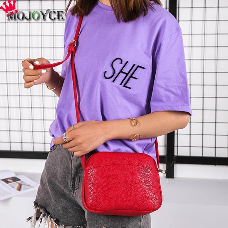 Women PU Leather Messenger Handbags Shell Shoulder Crossbody Bag Solid Small Bags for Women 2020 Sac a Main Ladies Hand Bag 4