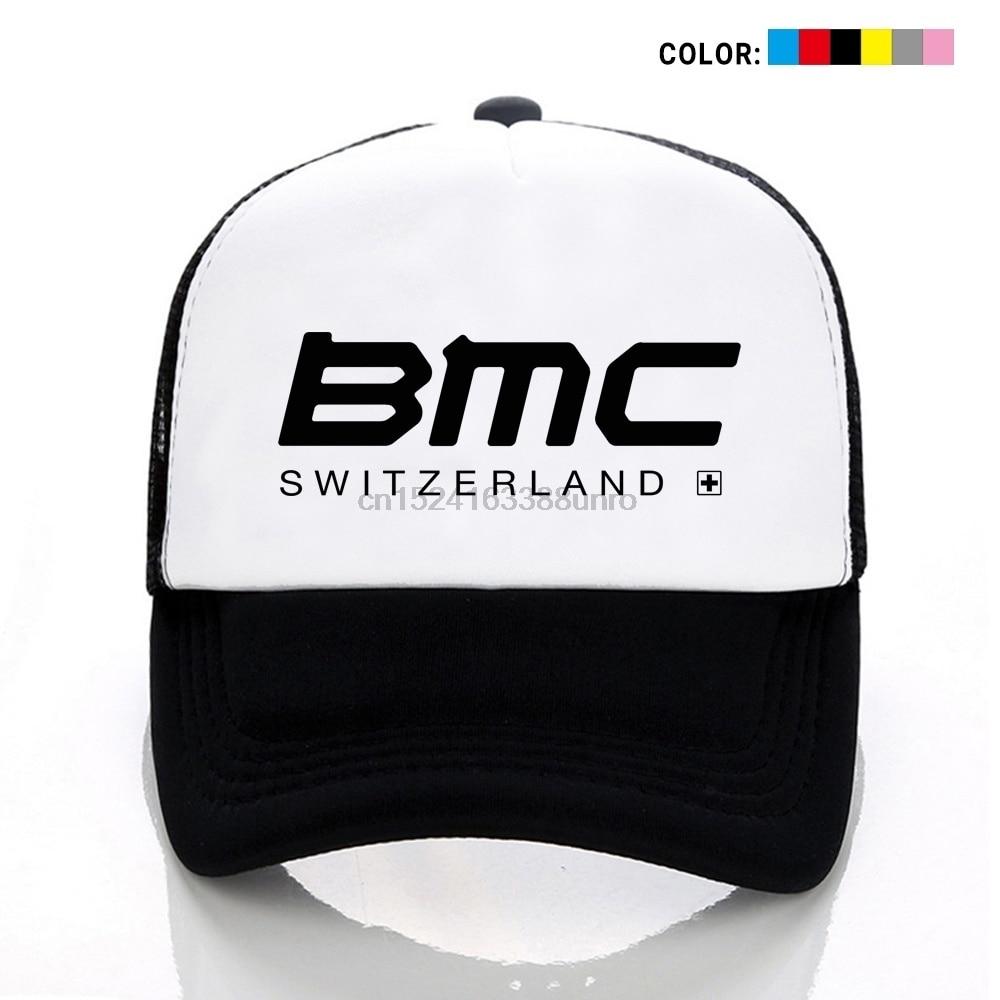 617bebca3 BMC Switzerland Pro Cycling Racing Team Print Mesh Cap Unisex Hats Caps  Youth Hat Adjustable Cap Sports Hat Outdoors Cap