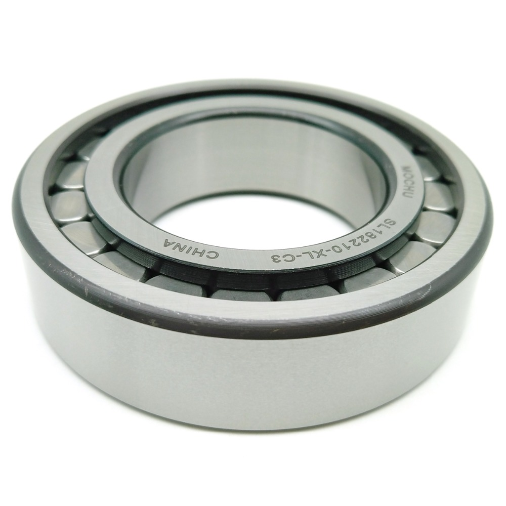 1pcs MOCHU SL182210-XL-C3 50X90X23 SL182210 Full Complement Cylindrical Roller Bearings f2522 full complement needle roller bearings 942 25 the size of 25 32 22mm