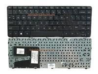 Reboto Original Black Color Laptop Keyboard For HP Pavilion 14 F027CL 14 E014TU US Layout With