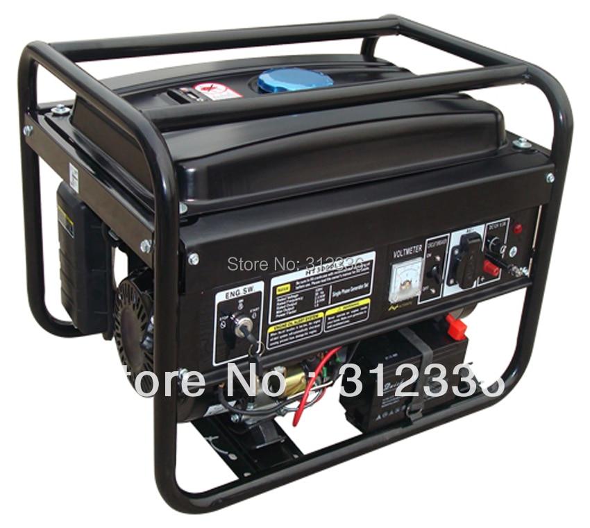Бензиновый генератор 6500EW3 5kW 188F GX390