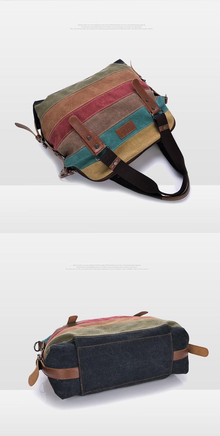 Phedera - Leather Rainbow Purse 11