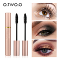 O.TWO.O 3D Fiber Lashes Thick Lengthening Mascara Long Black Lash Eyelash Extension Eye Lashes Brush Makeup Pro Eye-Cosmetics