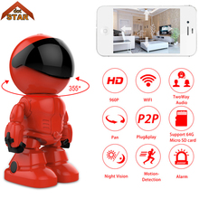Stardot Robot IP Camera HD WIFI Baby Monitor 960P 1.3MP CMOS P2P Audio Security Remote Home Wireless CCTV Camera