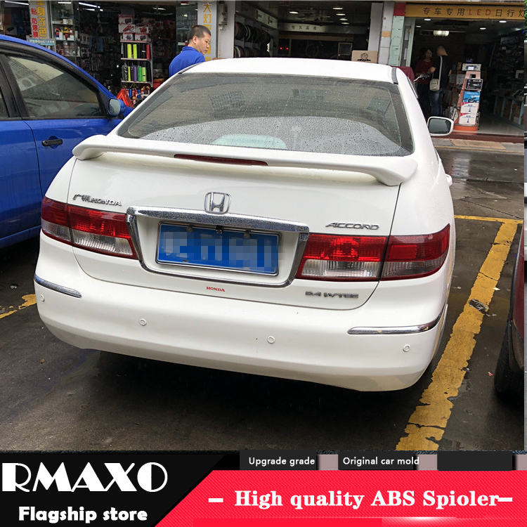 Auto Replacement Parts Spoilers & Wings Use For Honda Accord Lip Spoiler 2006-2007 Model Lip Spoiler High Quality Abs Material Car Rear Wing Primer Color Rear Spoiler