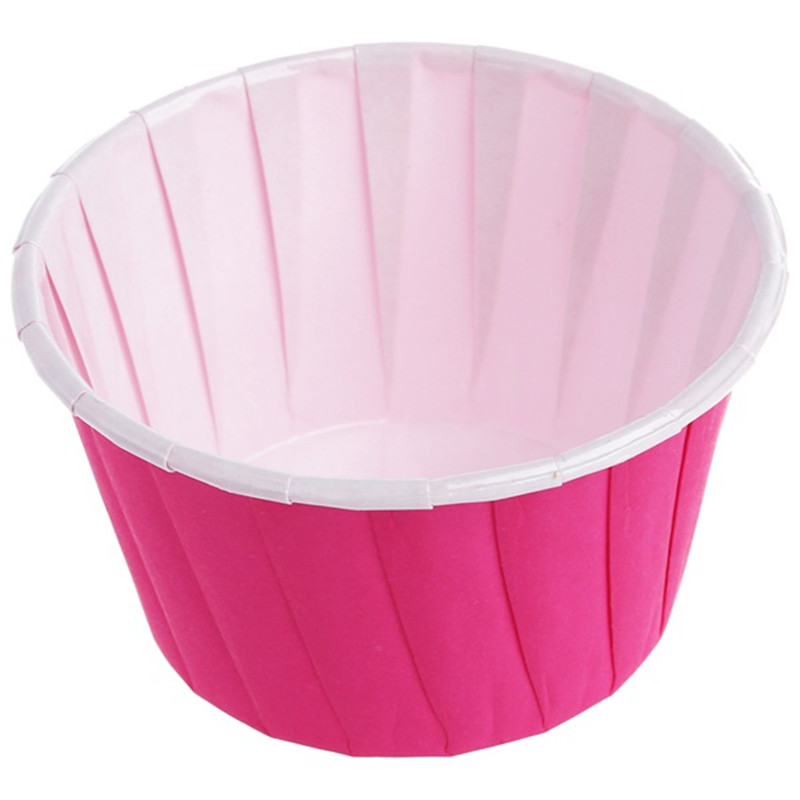 HOT SALE 50X Paper Baking Cup Cake Cupcake Cases Liners Muffin Dessert Wedding Party Color:coffee