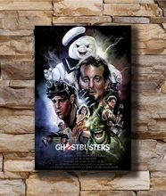 bc577796eeb Ghostbusters Movie 1984 Home Decoration Poster Wall Canvas Art 14x21 16x24  24x36inch Print G-1429