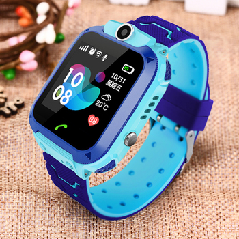 2019 New Smart watch LBS Kid SmartWatches Baby Watch for Children SOS Call Location Finder Locator Tracker Anti Lost Monitor+Box 1