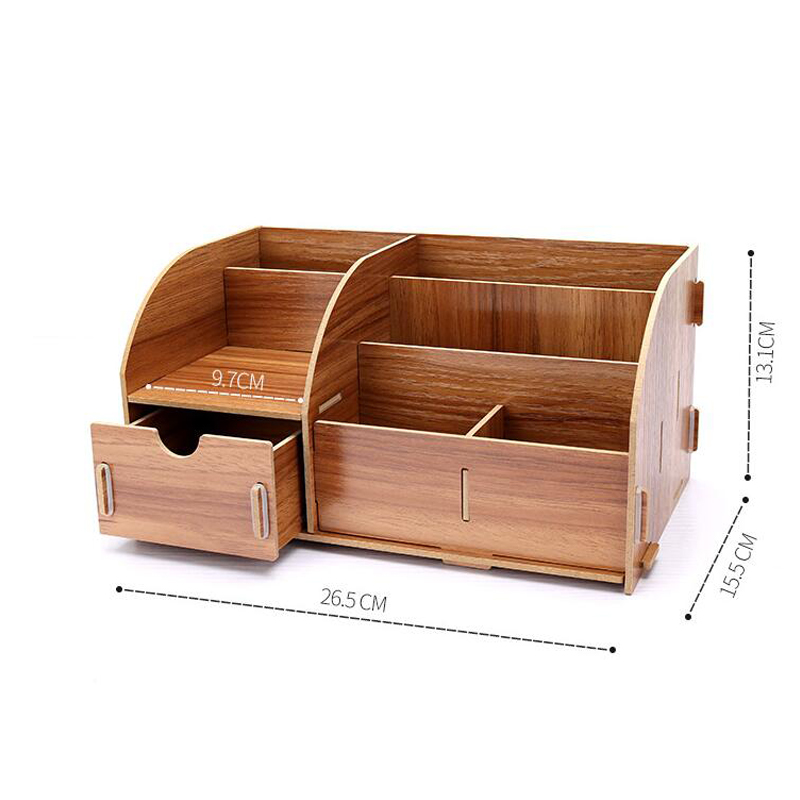 Holders With Drawer Paper Holders Multipurpose Wooden Storage Box 2
