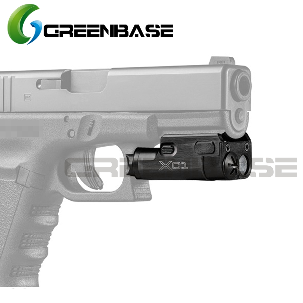 GreenBase Hunting Linterna XC1 Ultra Compact SF Weapon Light Linterna LED MINI Light Para Airsoft Pistola Pistola Lanterna