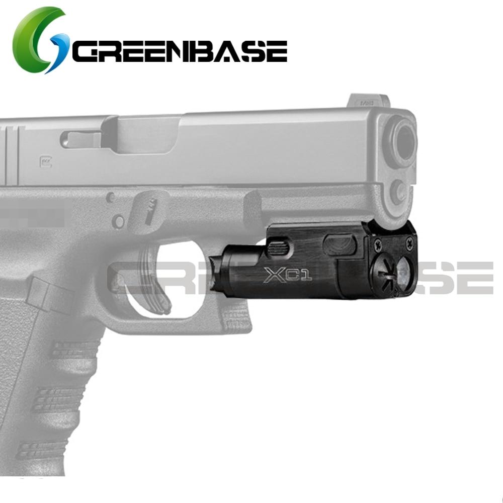 GreenBase Κυνήγι Φακός XC1 Ultra Compact SF Φως Φως LED Φανάρι MINI Φως για Airsoft Χειροκίνητο Πιστόλι Lanterna