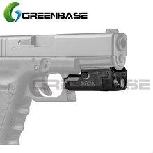 GreenBase Hunting Flashlight XC1 Ultra Compact SF Weapon Light LED Flashlight MINI Light For Airsoft Handgun Pistol Lanterna